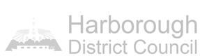 View application on Harborough website